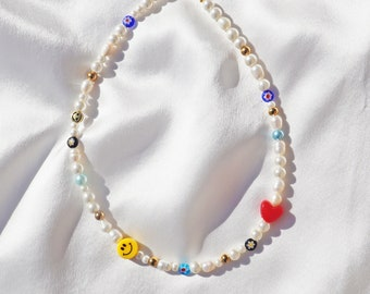 Summer 2019 Fashion Necklace for Women Bead Necklace \u2013 Chunky Beaded Necklace Handmade in Obsession Beads