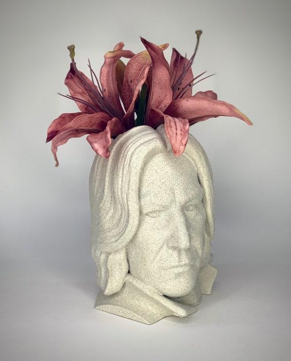 Snape Succulent holder, Snape planter, Snape pot, Severus Snape gift, Harry potter gift, Snape planter
