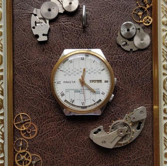 Vintage watch raketa College