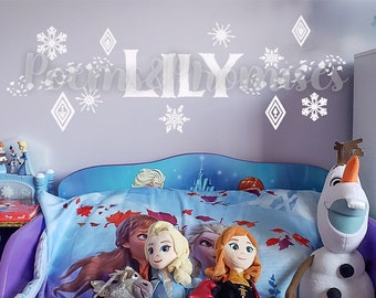 Frozen Room Decor Etsy