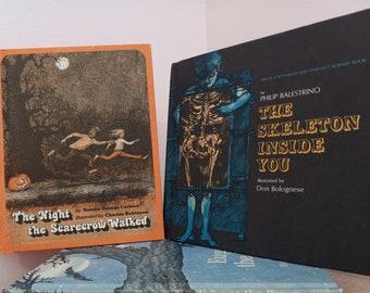 Vintage Children's Books - Halloween