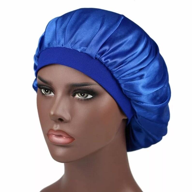 Sill Satin Women Bonnet Women Sleep Cap