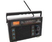 5 Core Original Vintage FM Transistor Radio AM FM 3 Band Portable Vintage Powered T-291