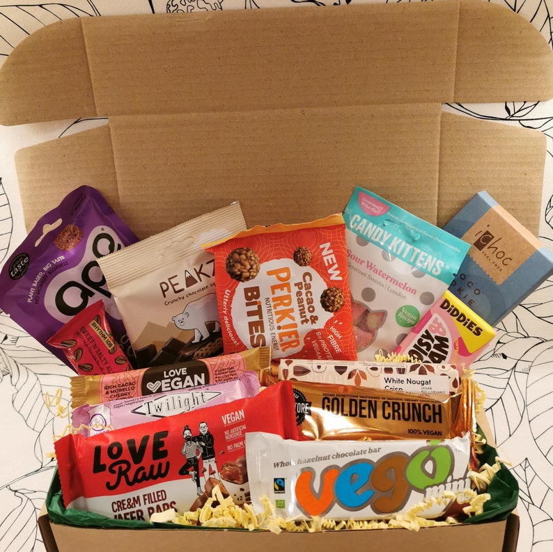 Vegan Sweet Luxury Snack Box Gift Hamper With Sweets And image 0