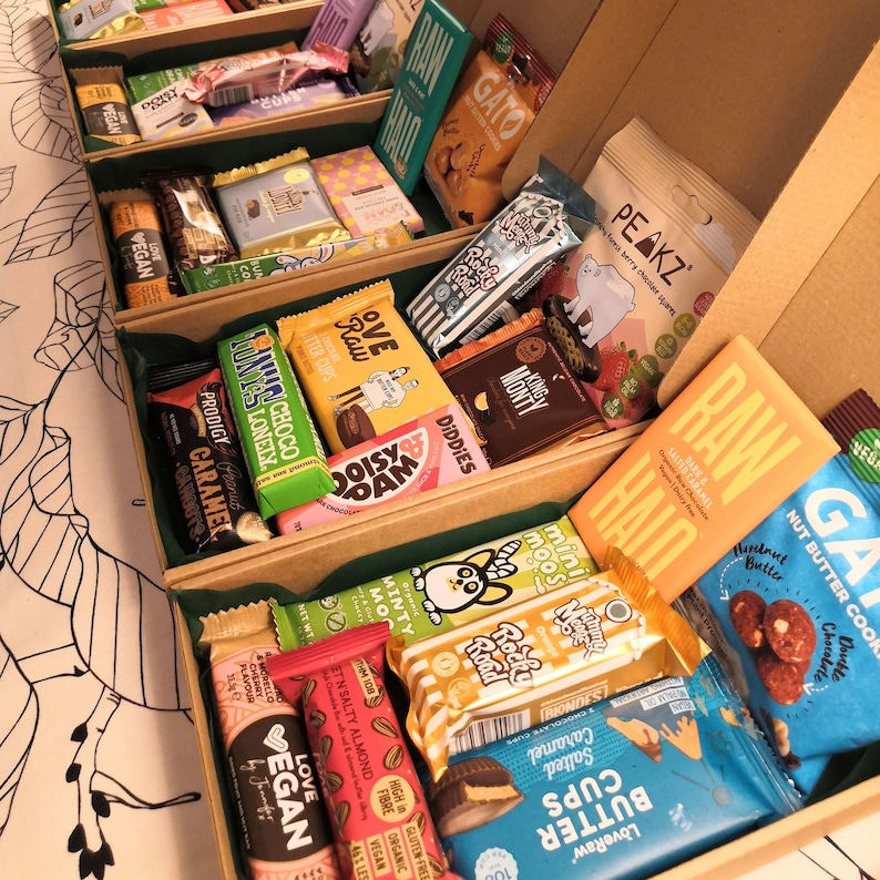 Vegan Sweet Snack Selection Box Letterbox Chocolate Perfect Surprise Me