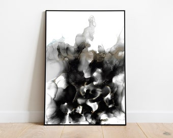 Custom Luxury Abstract Painting | Bedroom Wall Art | Marble Artwork | Large Wall Art | Abstract Contemporary | Abstract Canvas Painting