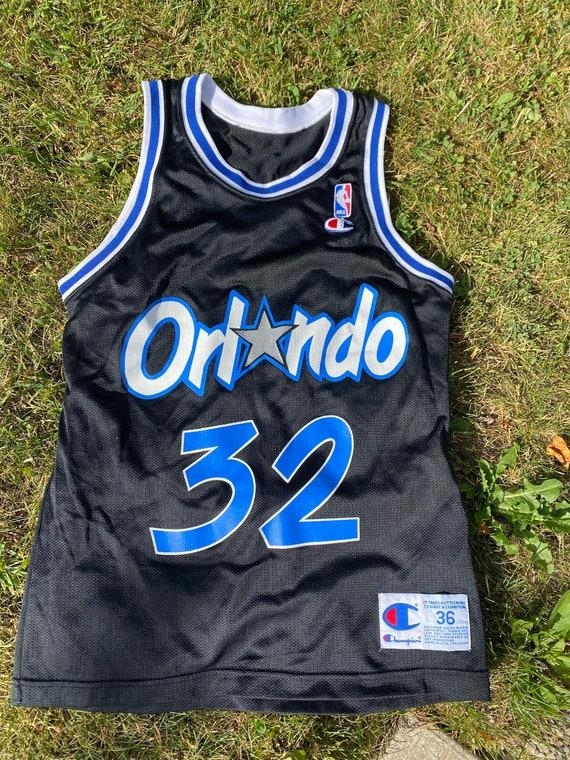 90s Vintage Orlando Magic Shaquille O'Neal Black C