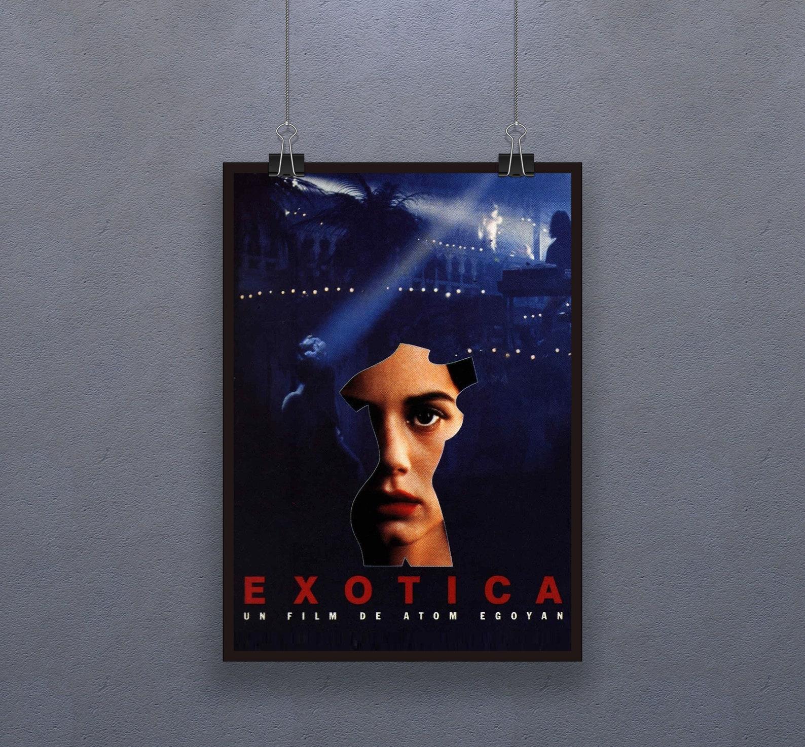 Exotica 1994 Poster Canadian drama film Decor Bruce   Etsy