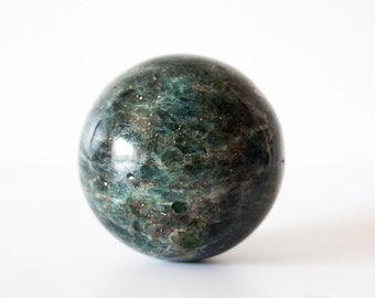 Blue Apatite Sphere, large blue apatite crystal, blue apatite ball, ethically sourced, crystal ball, crystal sphere
