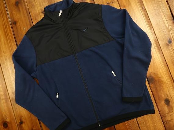 Nike Full Zip Fleece Sweater Size XL D18