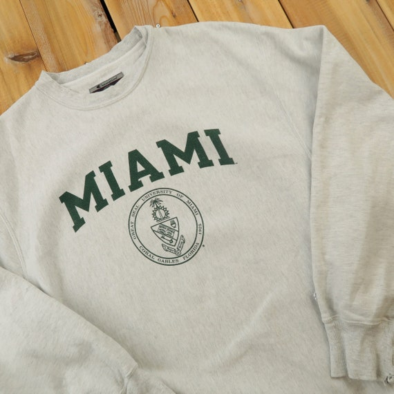 University of Miami Florida Champion Reverse Weave