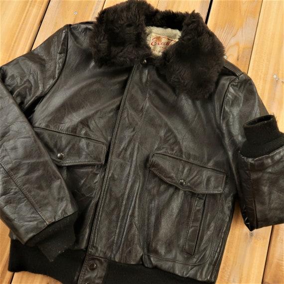 Excelled Genuine Leather Vintage Motorcycle  Jacke