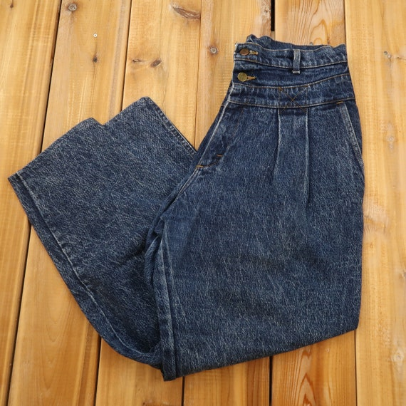 Lee Pleated High Waist Jeans Size 30 C5