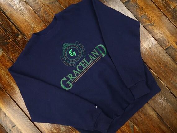 90s Graceland College Jansport Crewneck Size XL