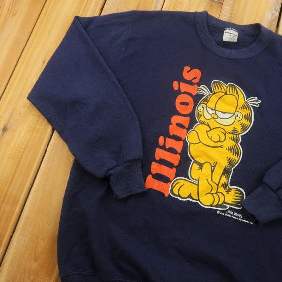 1978 Garfield Illinois Sweater Size LargeA8