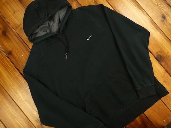 Vintage Y2K Nike Swoosh Hoodie Size XL D14