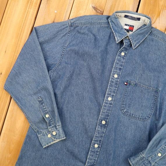 Tommy Hilfiger Tommy Jeans Vintage Denim Shirts Si