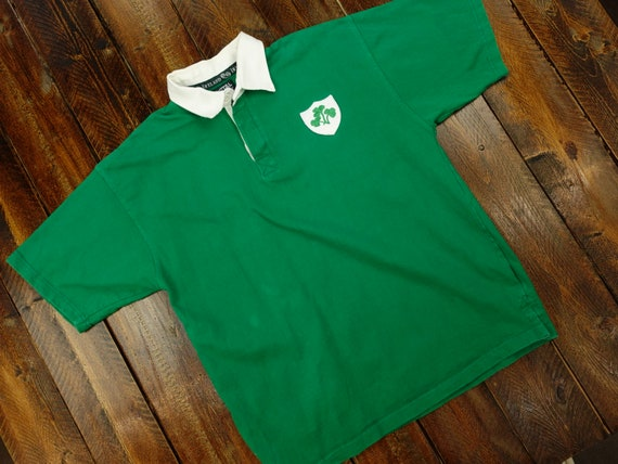 Vintage Total Rugby Ireland Rugby Shirt Size XL D1