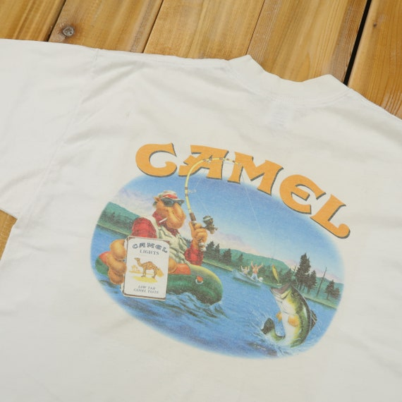 1992 Camel Cigarette Joe's Tackel Shop Pocket Both
