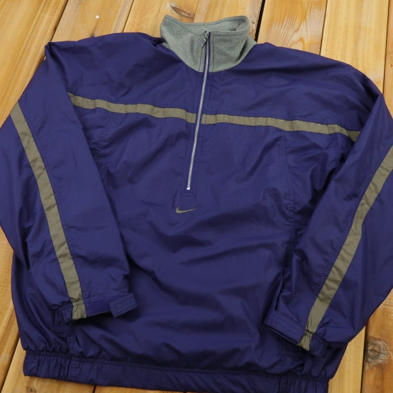 90s Nike Quarter Zip Windbreaker Size XL