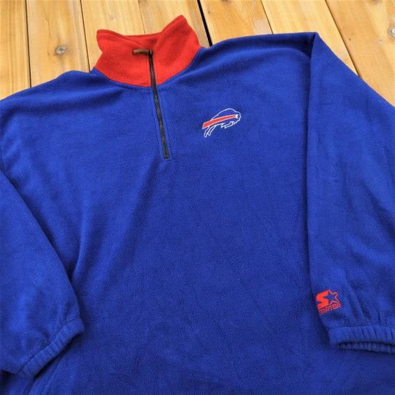 Buffalo Bills NFL Vintage Starter Quarter Zip Flee