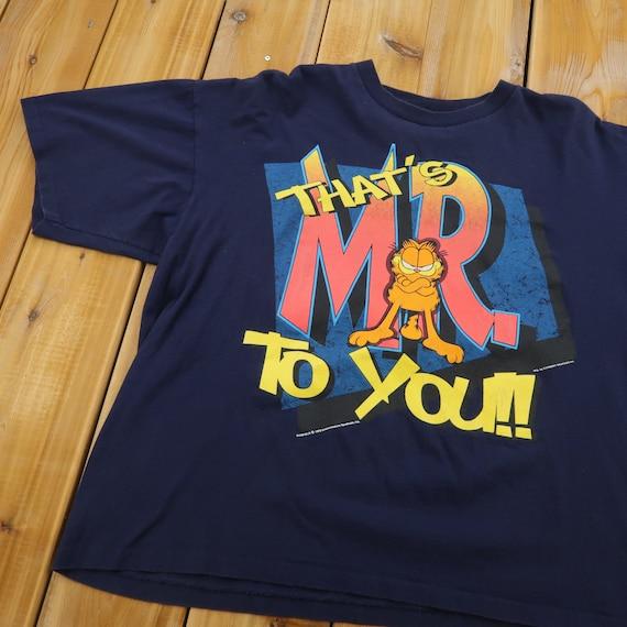 1978 Garfield Single Stitch T Shirt Size Medium A5