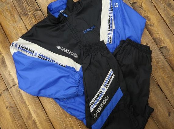 Umbro Windbreaker Track Suit Size Large/Large D9