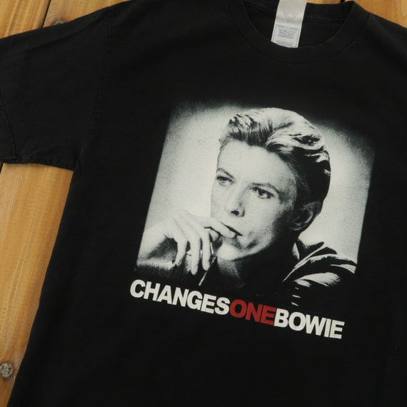David Bowie Changes One Vintage T shirt Size Large