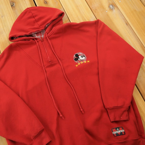 Mickey & Co. Mickey Mouse Embroidered Quarter Zip