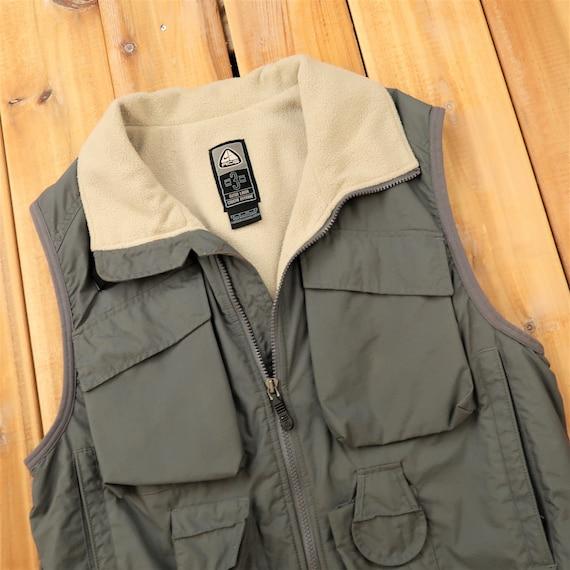 ACG Nike Fleece Lined Fishing Inspired Vest Size S