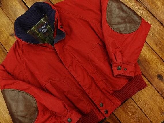 Nautica Plaid Lined Winter Jacket Size XL D12