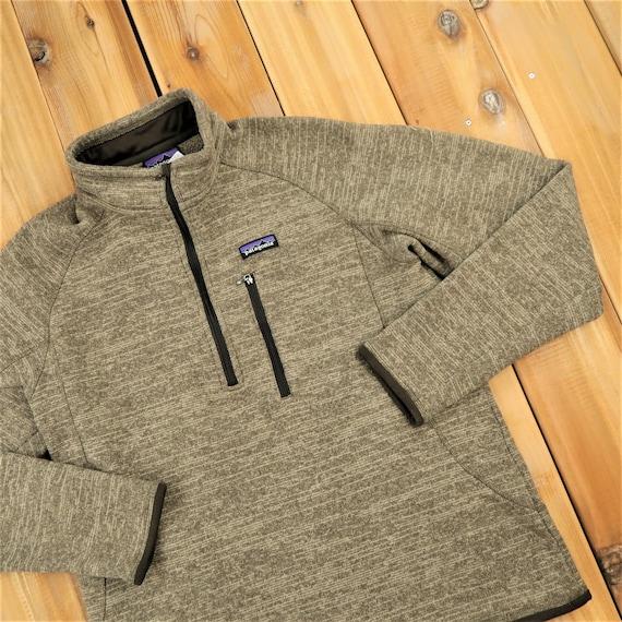 Patagonia Quarter Zip Fleece Sweater Size LargeA11
