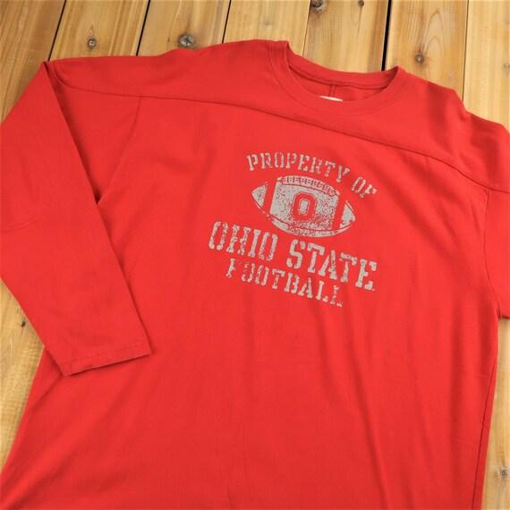 1980s Champion Ohio State Football Heavy Shirt Siz