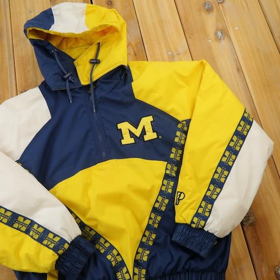 90s Michigan State Pro Player Quarter Zip Jacket S