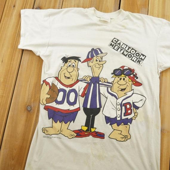 Cartoon Network 1993 Basketball Both Side Print T