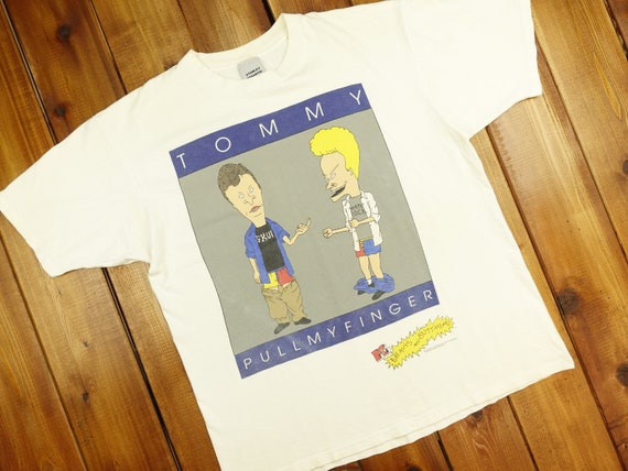 MTV 90s Beavis and Butthead Tommy Pull My Finger T