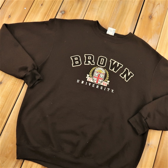 Brown University Champion Eco Fleece Sweater Size