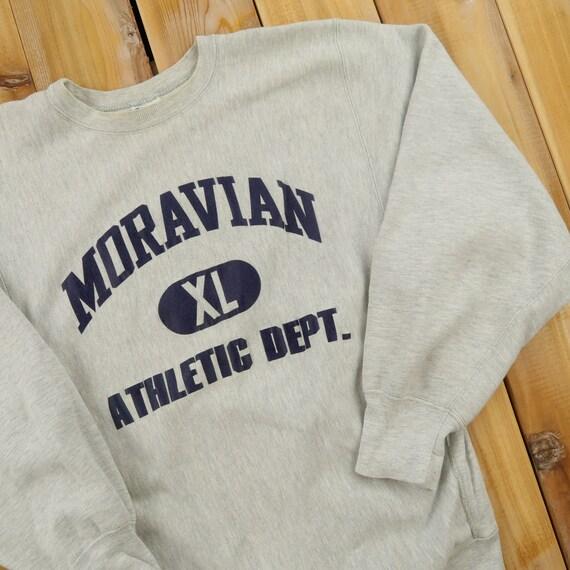 Moravian Athletic Dept Champion Vintage Reverse We