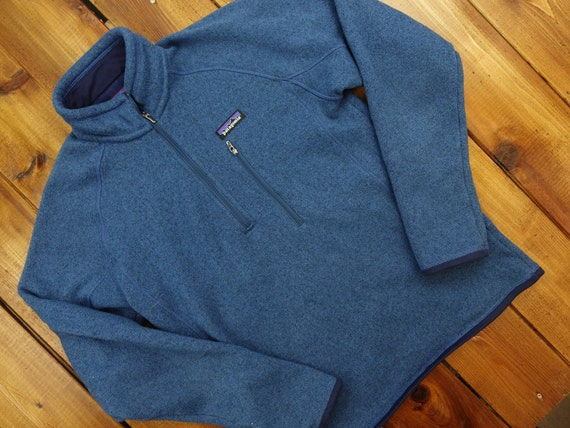 Patagonia Better Sweater Quarter Zip Sweater Size