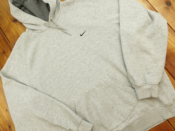 Nike Embroidered Logo Vintage Hoodie Size XL D12