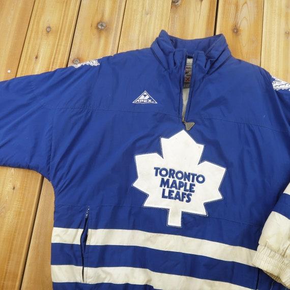 Toronto Maple Leafs NHL Apex One Quarter Zip Puffe