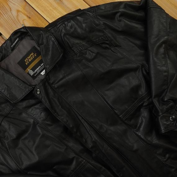 London Fog Tempo Europa Vintage Leather Jacket Siz