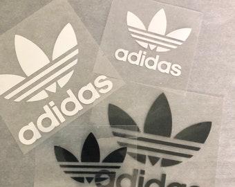 sueño Resignación hoja  Adidas iron on   Etsy