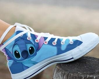 Custom canvas shoes   Etsy