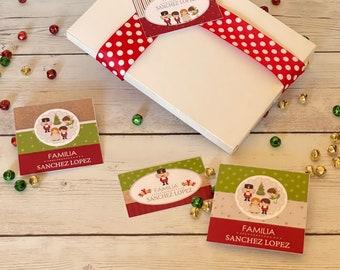 Merry Christmas Greeting Cards   Holiday Card   Kids Christmas Card  Christmas Gift