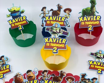 Toy Story Birthday    Toy Story 3 decoration   First birthday   Toy story toppers   Cake toppers toy story