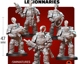 Thunderstorm Soldiers Legionnaries