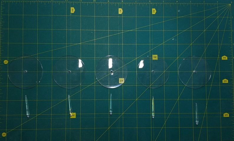 Ball Top Flying Stems with 60mm Flying Base plastic