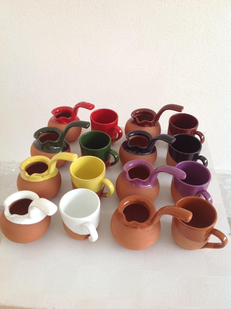 Soil coffe set,Clay coffee spot,tea spot,soil mug,ceramic mug,ceramic coffee set,,step mom gift,mother/'s day gift