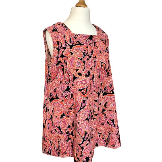 1960s psychedelic cord tunic